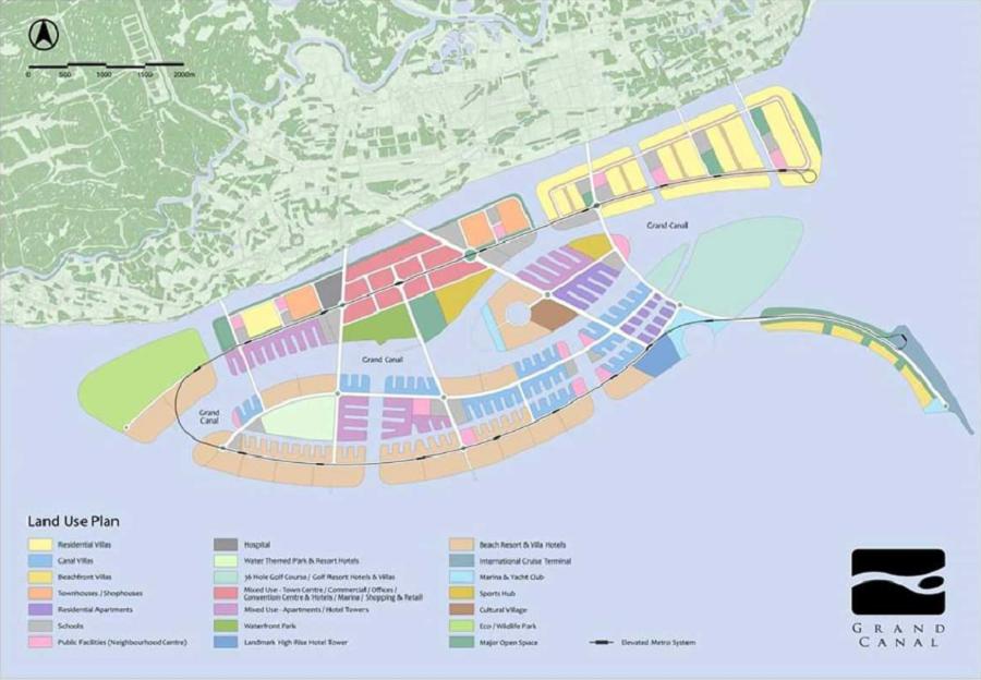Dự án Khu Đô Thị Du Lịch Lấn Biển Cần Giờ