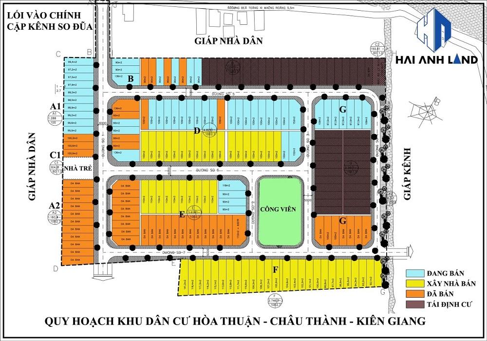khu dan cu Hoa Thuan 5 - Khu Dân Cư Hoà Thuận