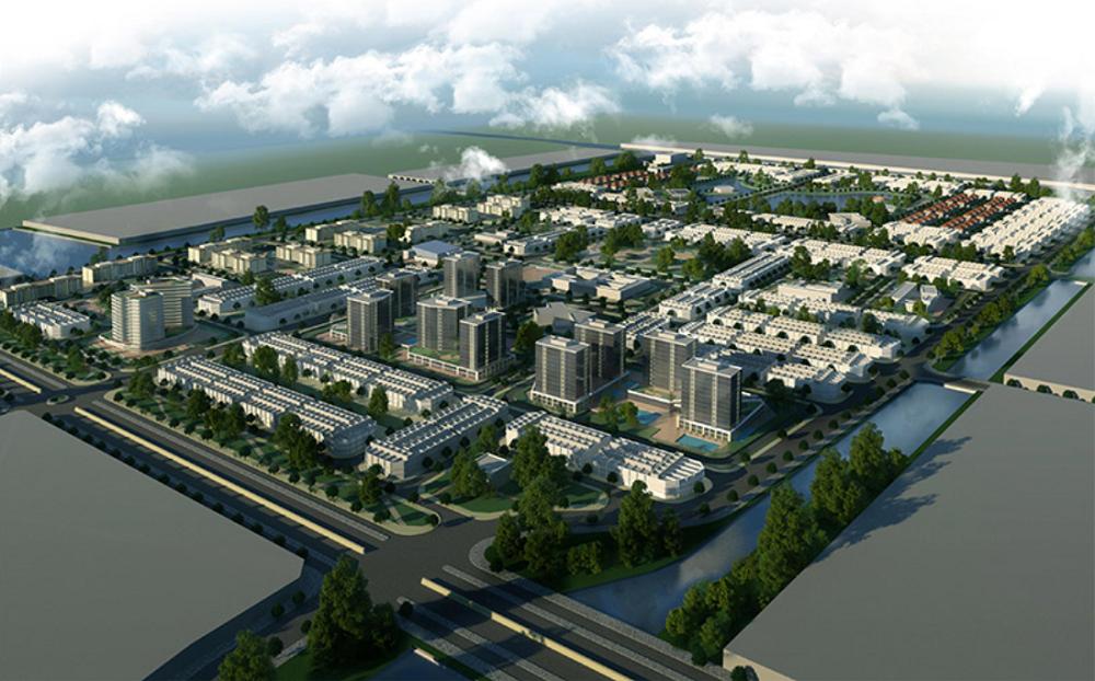 The New City Chau Doc 1 - The New City Châu Đốc