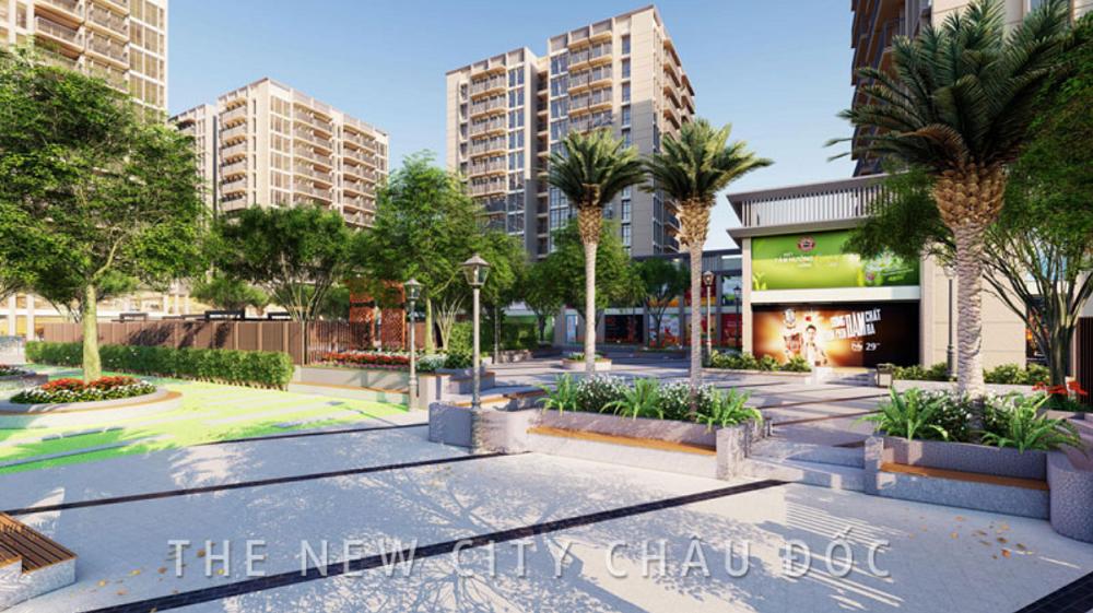 Cuộc sống Xanh tại Dự án đất nền nhà phố và biệt thự The New City Châu Đốc