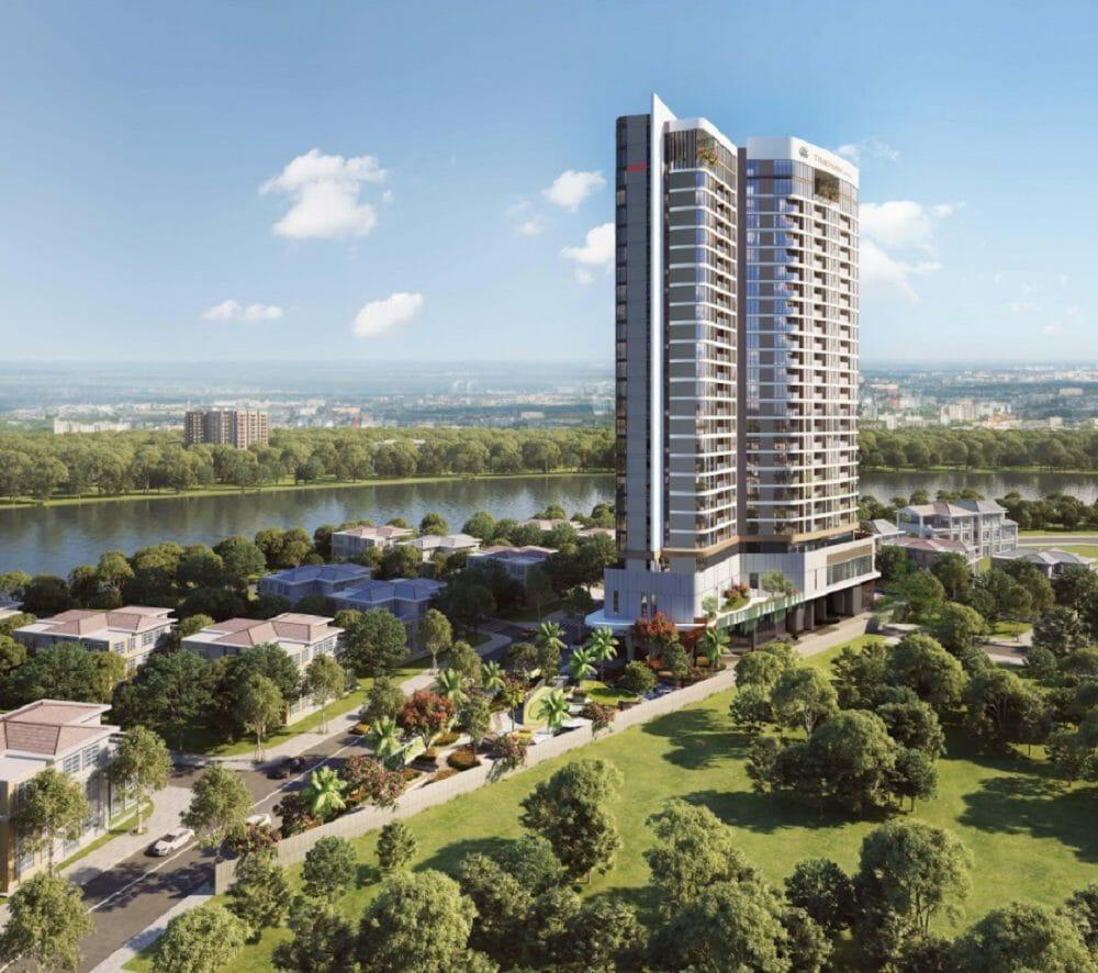 Căn hộ Thảo Điền Green Towers Đầu tư Bất động sản SIC công nghệ chống thẩm hiện đại