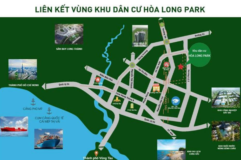 Hoà Long Park banner