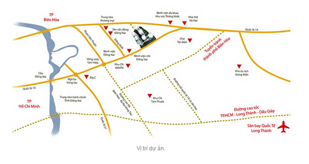 Dự án chung cư V-Citilight Biên Hòa và dấu ấn nổi bật thu hút khách mua nhà