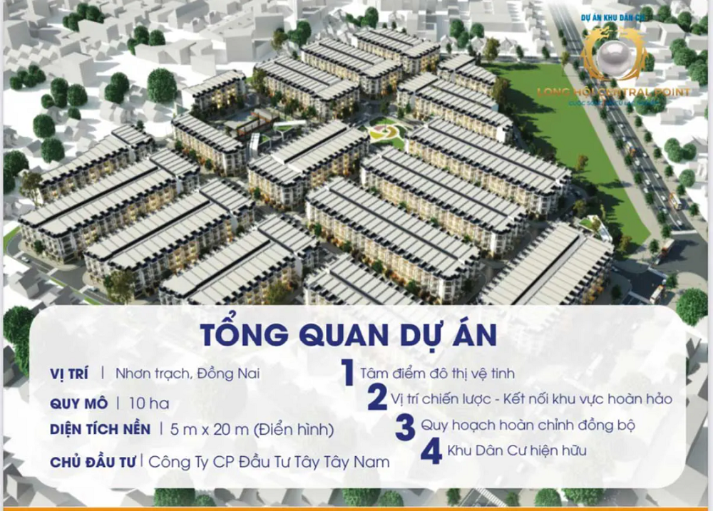 Long Hoi Central Point 1 - Long Hội Central Point