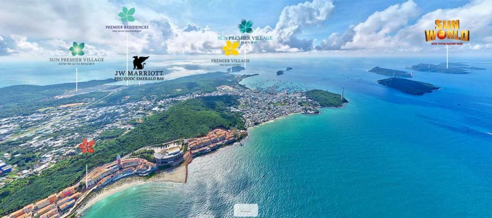 """Khu chung cư Sun Grand City Hillside Residence phía Nam Đảo Ngọc Phú Quốc và những """"đối thủ"""" cân sức cùng khu vực!"""