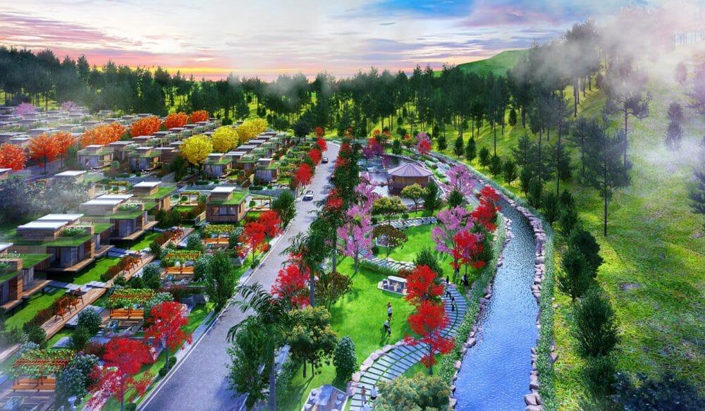 Khu dự án Suối Mơ Graden Hill Tôn Thất Thuyết phong cách sống Châu Á hiện đại hiện đại