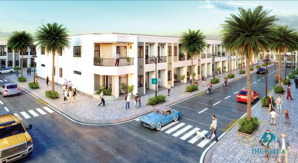 Taka Garden Riverside Homes dự án hạ tầng hiện đại phong cảnh đẹp