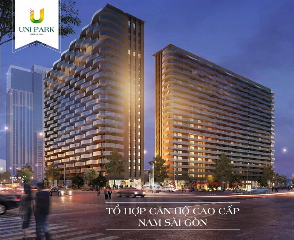 """Khám phá """"thành phố xanh"""" chung cư Uni Park Nam Sài Gòn – dự án bất động sản vượt trội thị trường"""