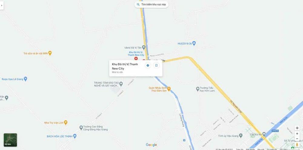 Dự án đất nền Vị Thanh New City Hậu Giang ưu đãi khách hàng kênh sinh lợi