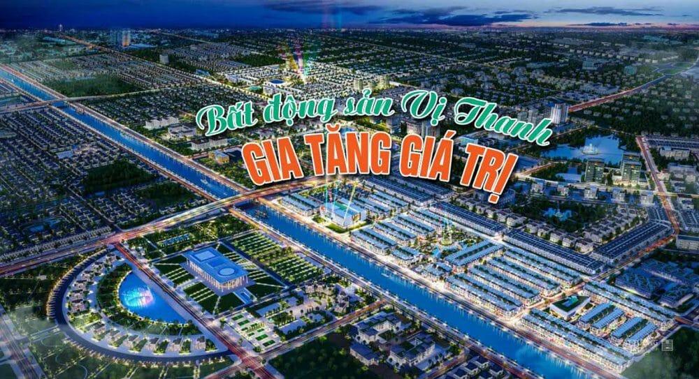 Hệ thống tiện ích ngoại khu tiếp cận nhanh chóng tại Dự án Vị Thanh New City Lê Hồng Phong