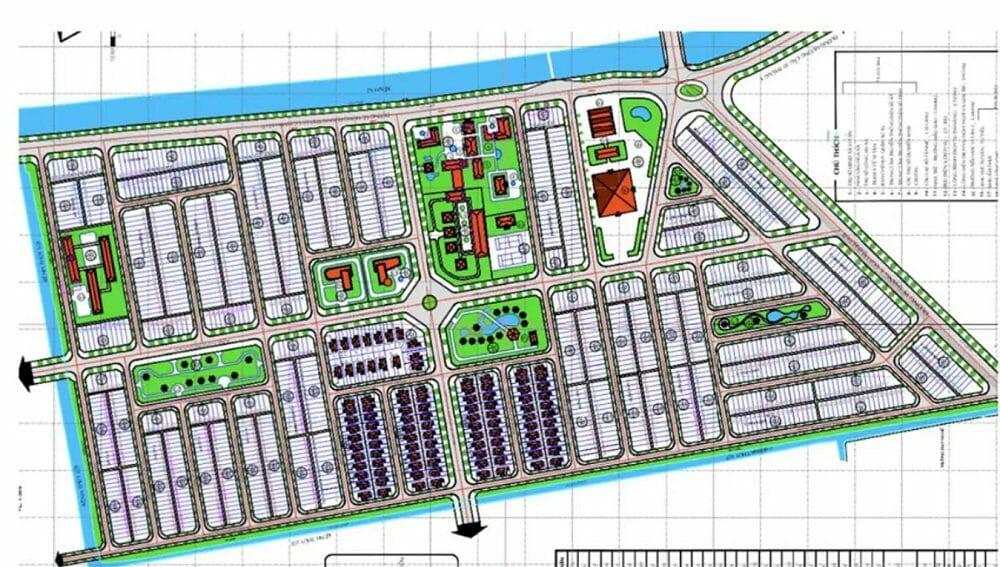 Dự án đất nền Vị Thanh New City giá thành hợp lý tiến độ tốt