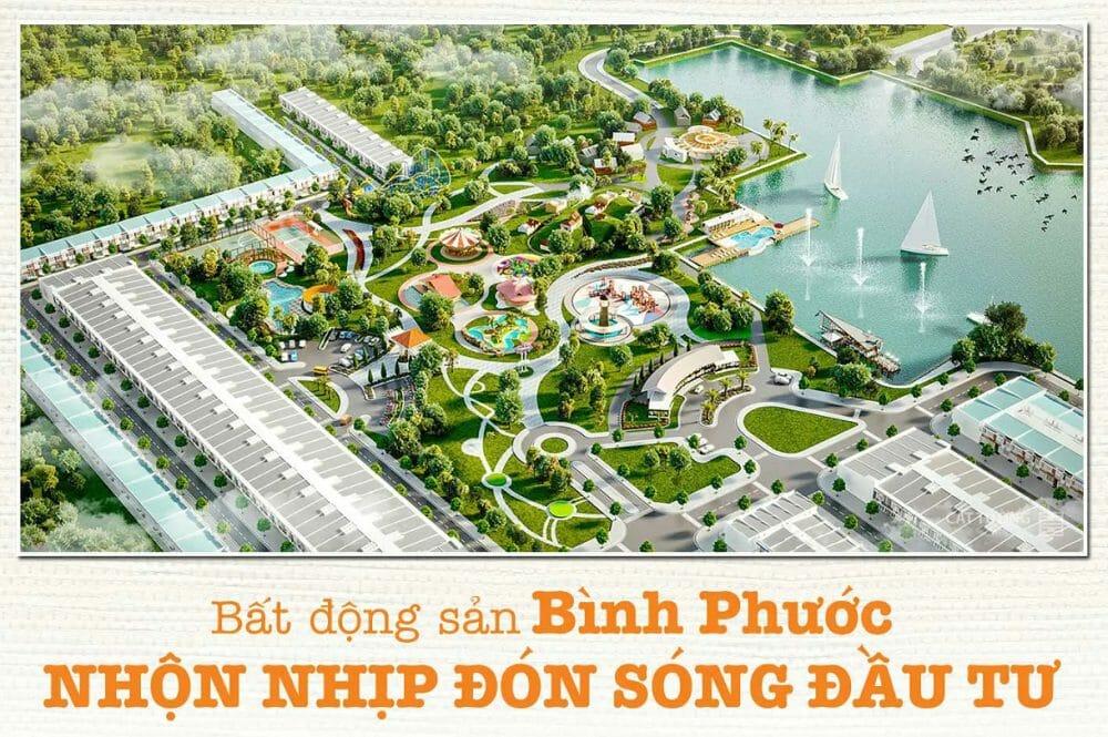 Dự án đất nền Felicia City Bình Phước đậm nét văn hóa đẹp sang trọng