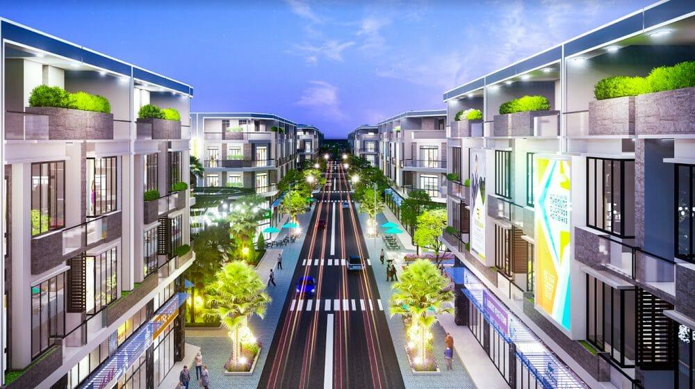 Long Phát Residence đất nền Nhà phố bố trí khoa học nhiều lợi nhuận