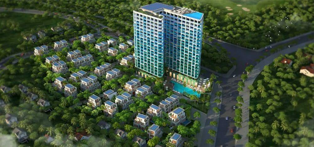 Không gian xanh dịch vụ tiên ích đẳng cấp tại dự án căn hộ chung cư  Casa Marina Mũi Né Phường Phú Hài