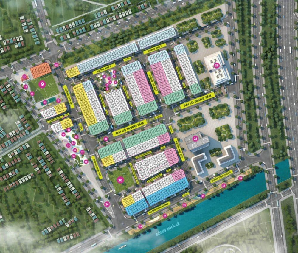 TNR Lam Sơn dự án Nhà phố hồ bơi thư giãn nhiều lựa chọn