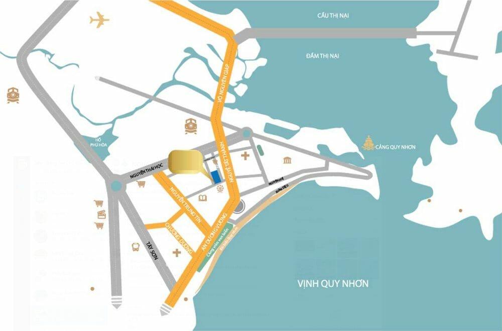 Mê mẩn với lối thiết kế khác biệt của dự án căn hộ chung cư  Wyndham Sailing Bay Resort  Quy Nhơn