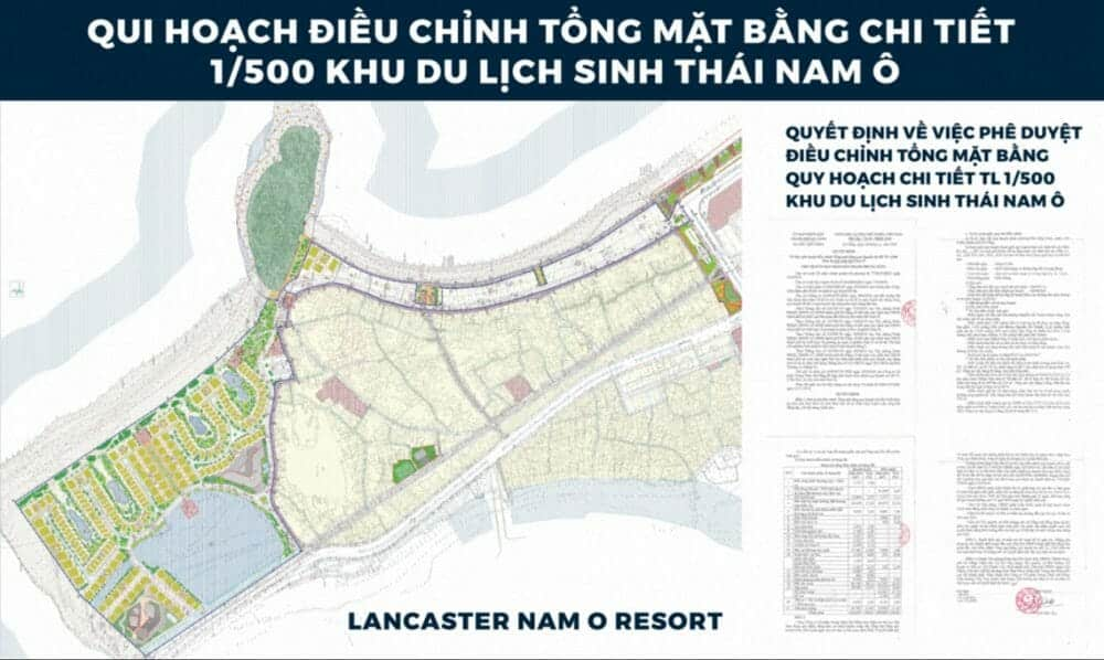 Lancaster Nam Ô Resort Đà Nẵng hội tụ văn hoá khu yên tĩnh