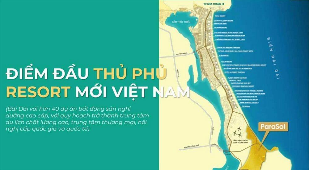 Dự án Para Sol Cam Ranh Khánh Hòa – Bảng Giá – PTTT Pháp Lý Có Đủ