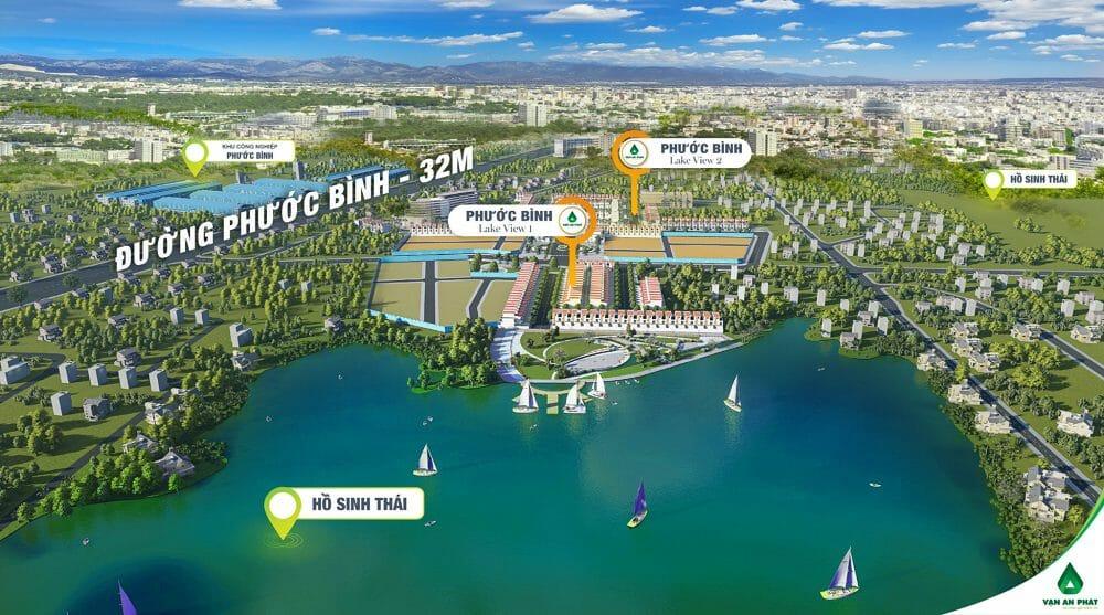 Dự án đất nền Phước Bình Lakeview đô thị cao cấp sự khác biệt